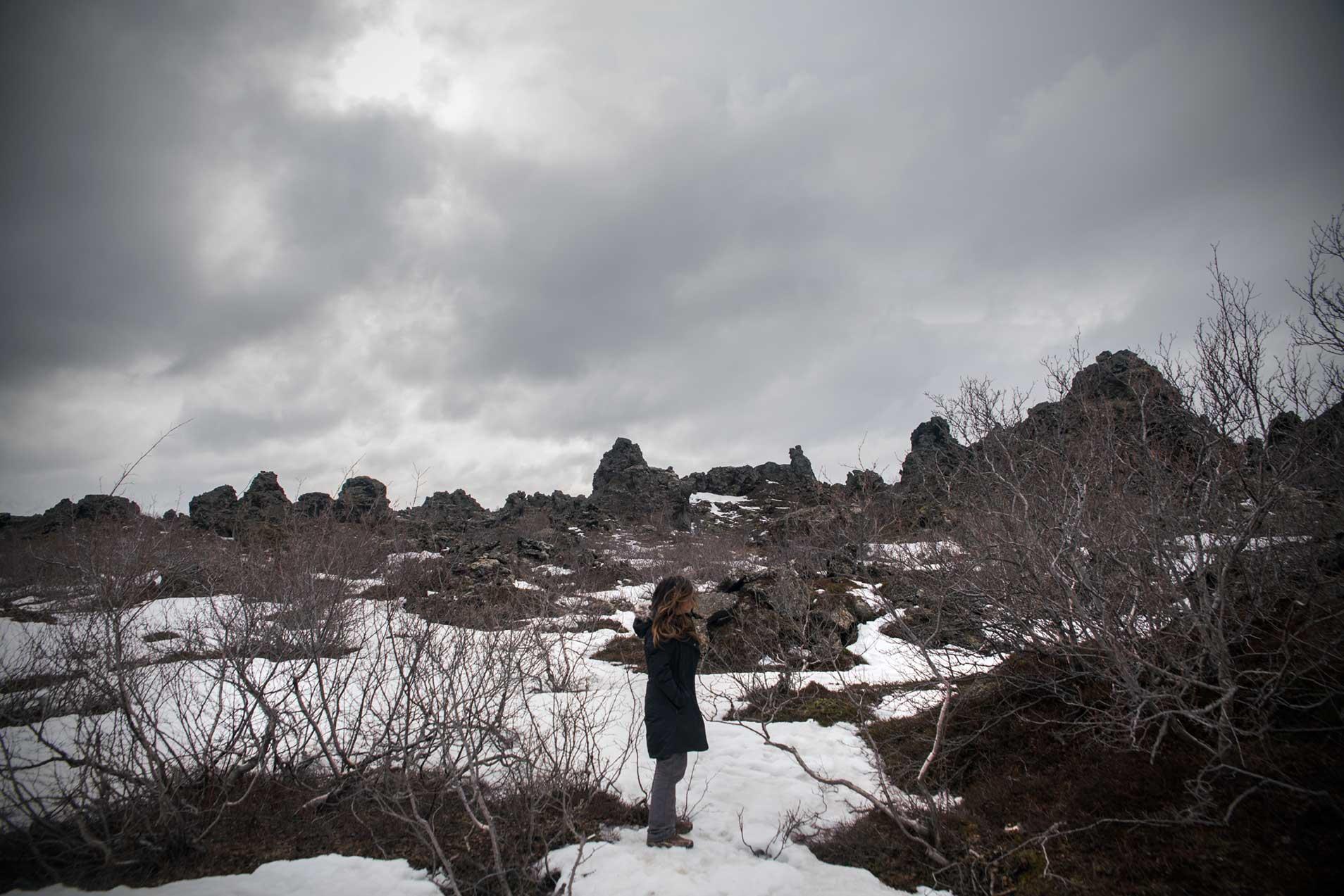Dimmuborgir-iceland