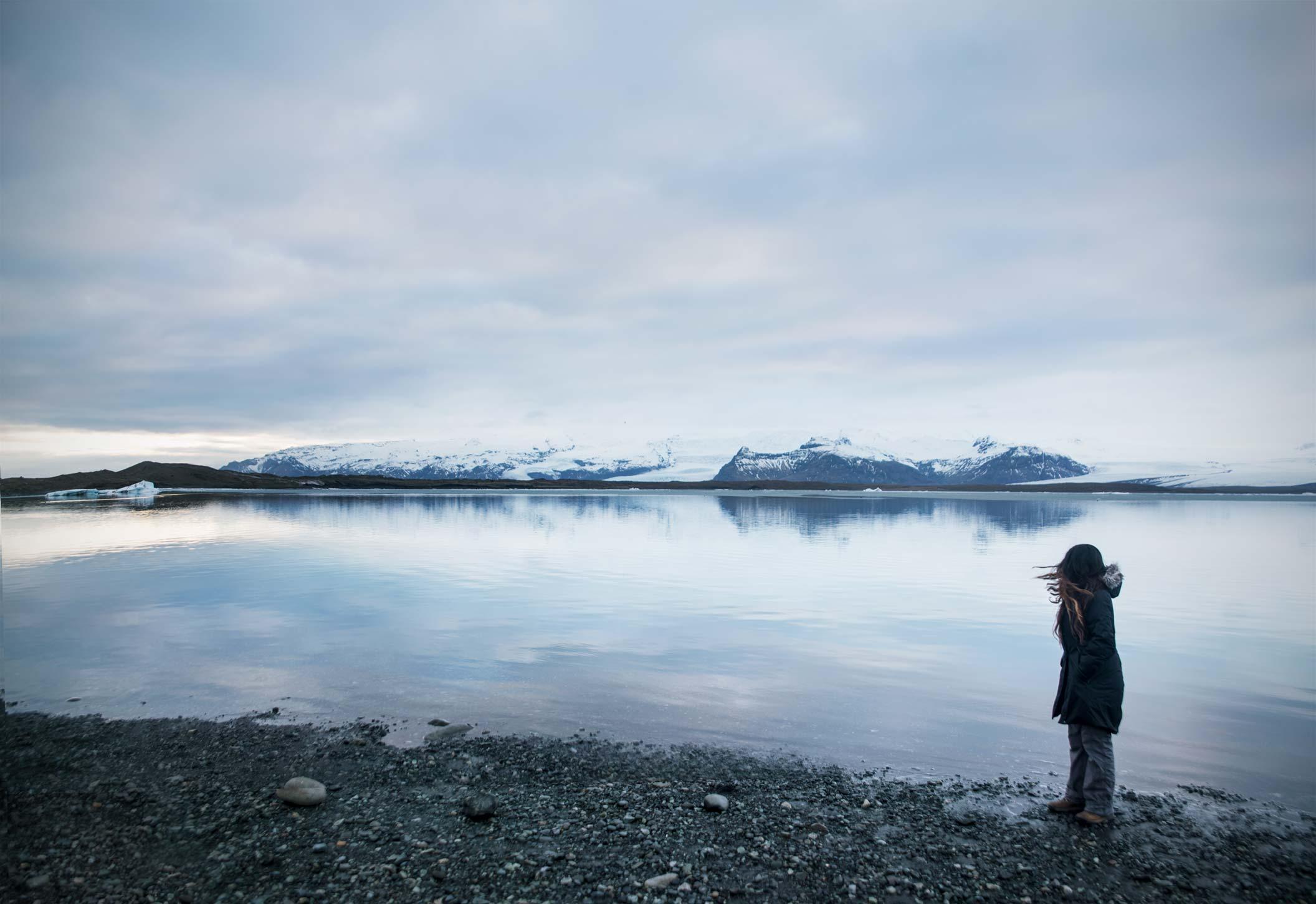 Jökulsárlón-glacier