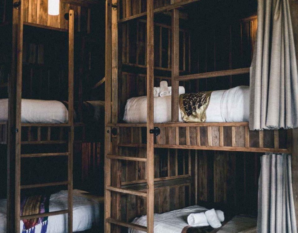 Bunk beds hostel