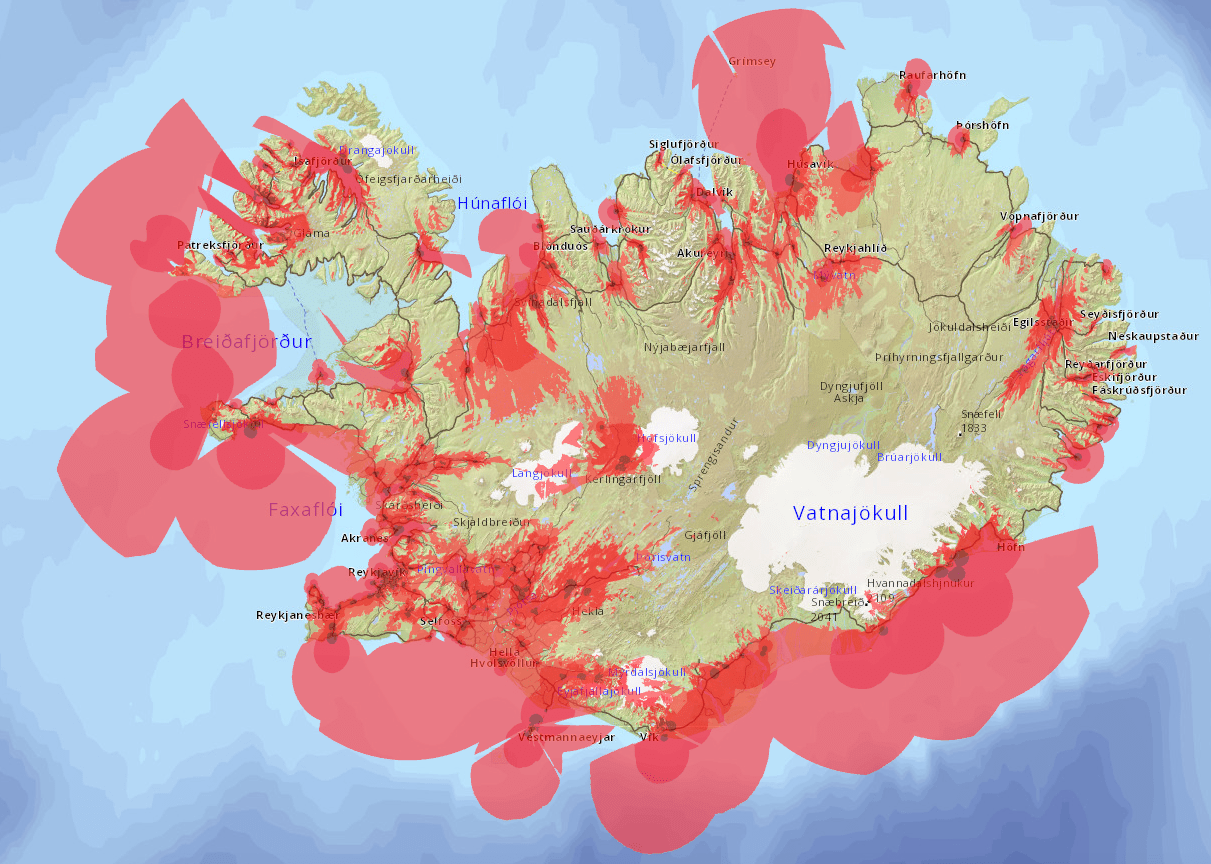 vodafone cell phone coverage map
